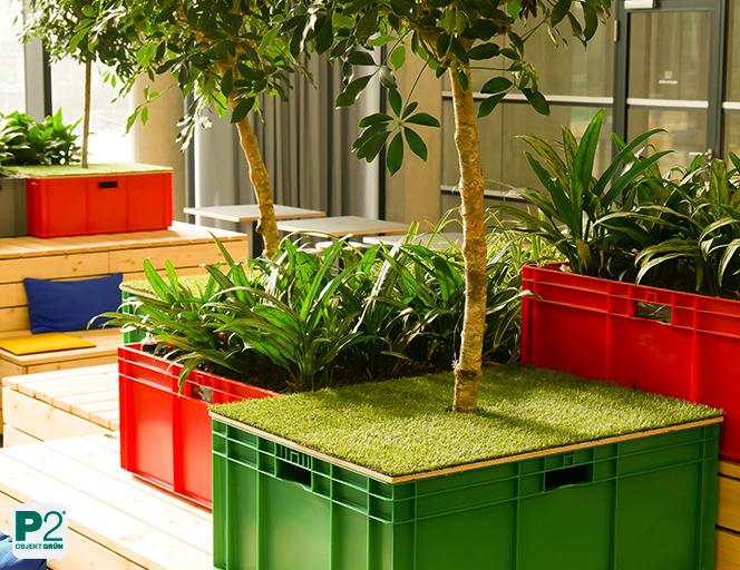 mobile Pflanzenkästen