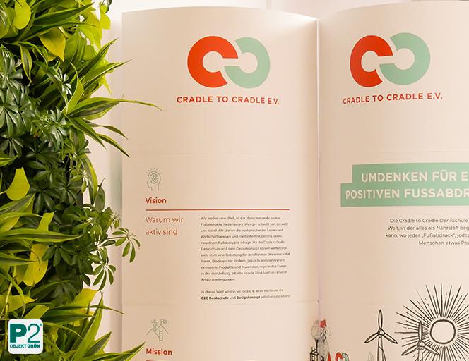 Cradle to Cradle e.V. inspiriert zum Nachdenken über Nachhaltigkeit in der Innenraumbegrünung