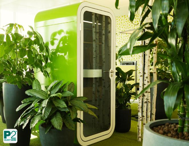 Biophilic Design im Büro