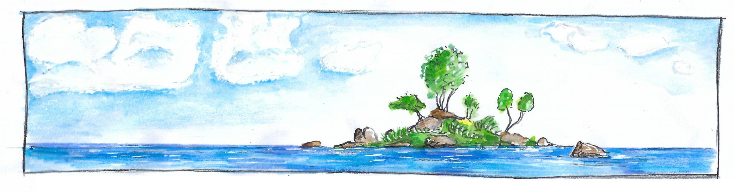 Das Vorbild: eine grüne Insel