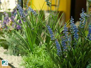 Lavendel als Kunstpflanze