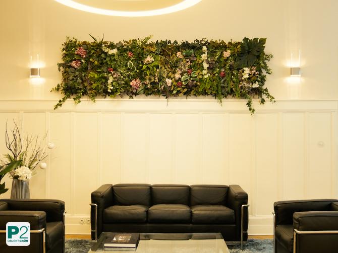 Pflanzenbild im Büro