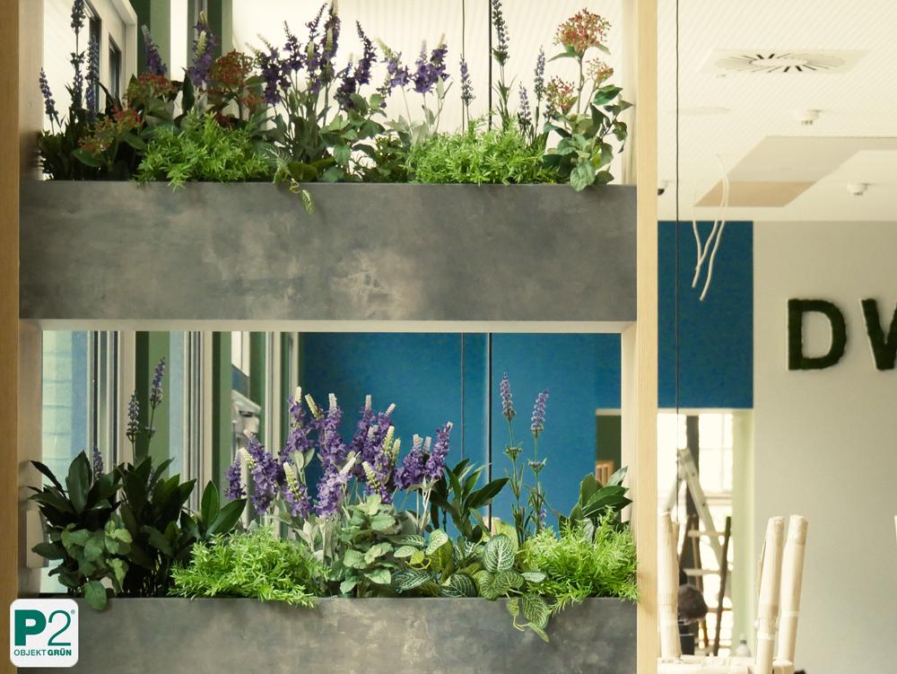Design mit hochwertigen Kunstpflanzen
